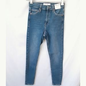 Topshop High Rise Jamie Skinny Jeans